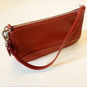 Coach - Vintage Red Hampton Demi Purse